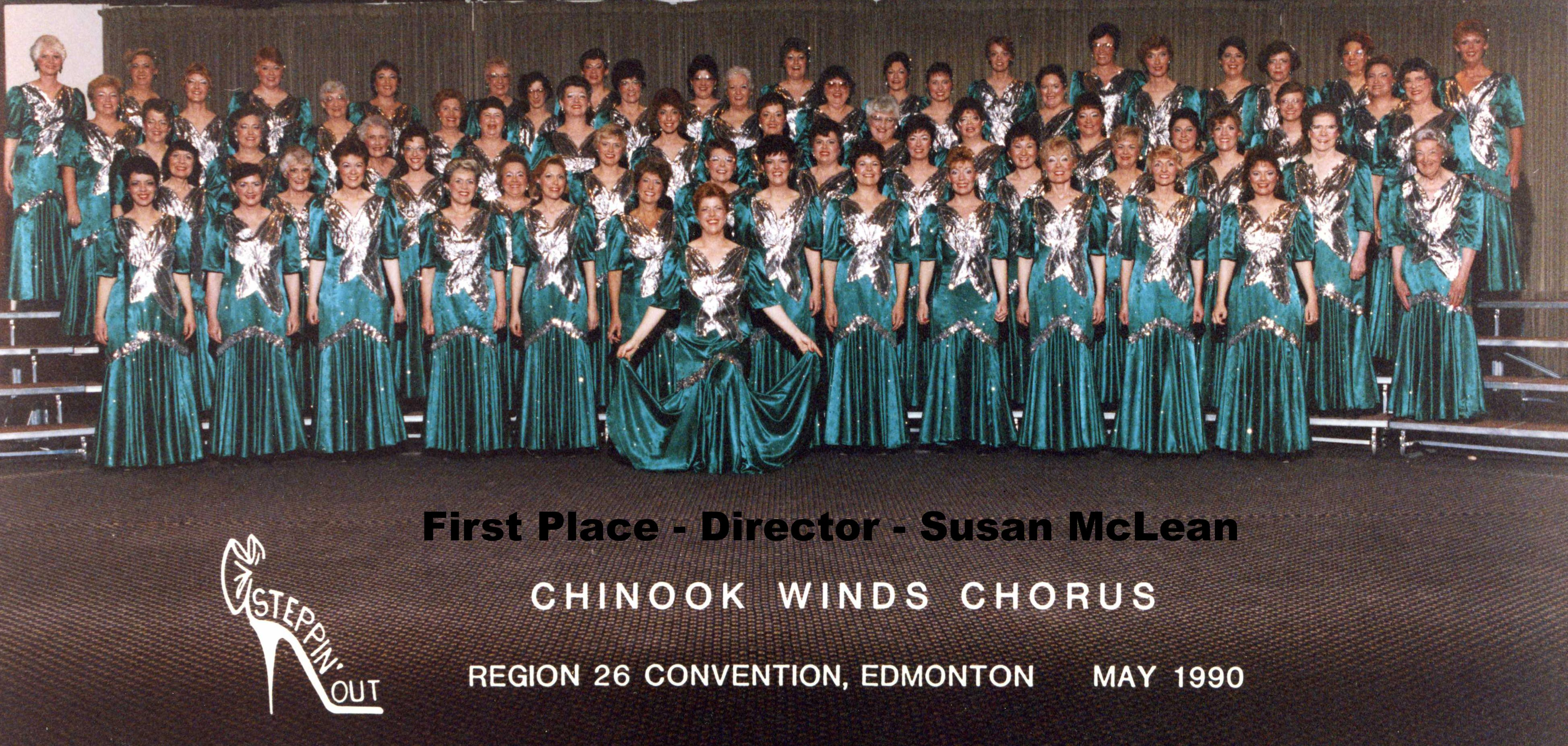 Chinook Winds Chorus First Place 1990